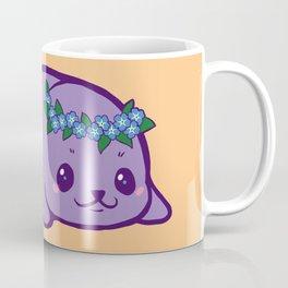 Baby Seal has Forget Me Nots Coffee Mug