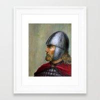 knight Framed Art Prints featuring KNIGHT by Arturas