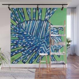 Lion Fish 2, a pretty predator & invasive species Wall Mural
