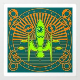 Kosmos 61 Art Print