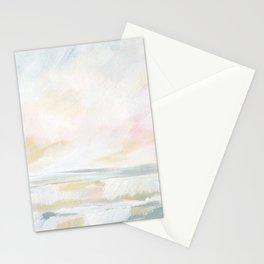 Golden Hour - Pastel Seascape Stationery Cards