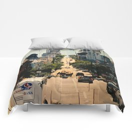It's a Cubist's World Comforters