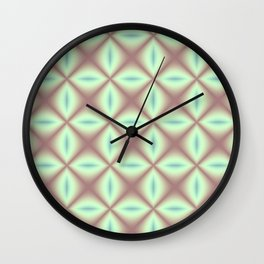 Colorful Net Wall Clock