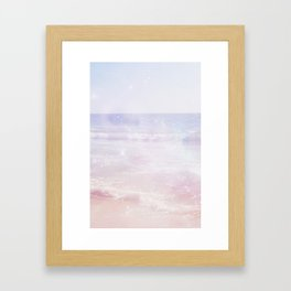Magic Waves Framed Art Print