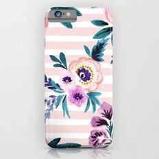 Victoria Blushing Stripe iPhone 6s Slim Case