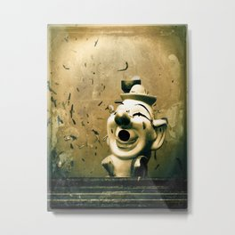 Clown Games Metal Print