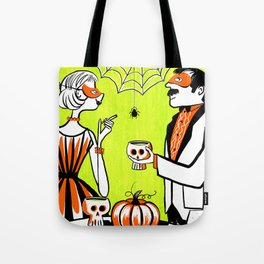 The Swankiest Halloween Party Tote Bag