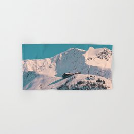 Mt._Alyeska Ski_Resort - Alaska Hand & Bath Towel