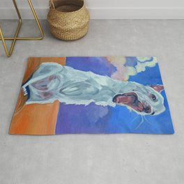 Special Needs Pippin Dog Portrait Rug