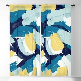 Abstract painting 111 Blackout Curtain