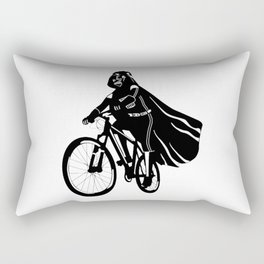 Darth Vader bicycle Rectangular Pillow