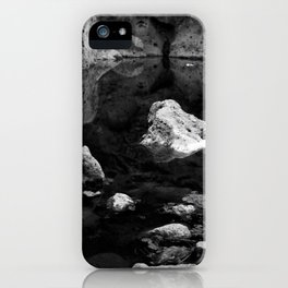 Reflections on Shallow Water iPhone Case