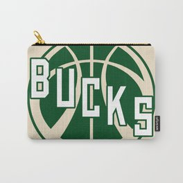 Bucks creme Carry-All Pouch