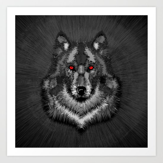 Wolf by grandeduc