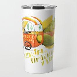 Mango con sal Travel Mug