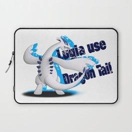 Lugia use Dragon Tail - white vrs. Laptop Sleeve