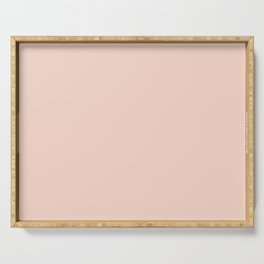 Creme de Peche | Pantone Fashion Color | Fall : Winter 2019-2020 | New York | Solid Color | Serving Tray