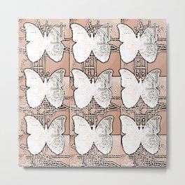 High Tech Butterflies 2 Metal Print