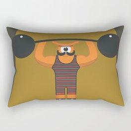 strong eye Rectangular Pillow