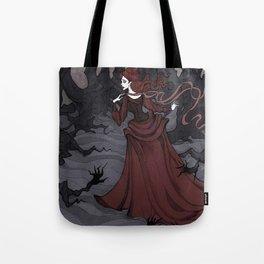 Unfriendly woods Tote Bag