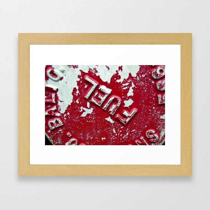 Fuel Framed Art Print
