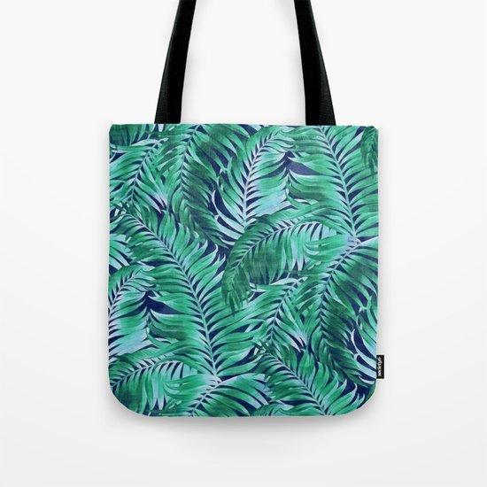 Palm leaves III Tote Bag