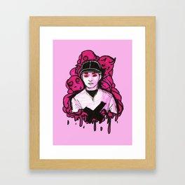 The Batter Framed Art Print