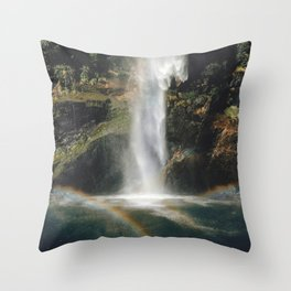 Feel the Water Fall Throw Pillow