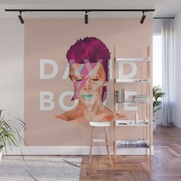 D. Bowie Wall Mural