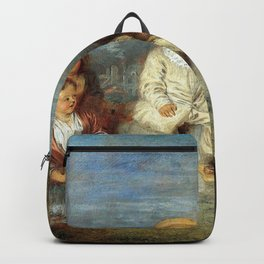 """Antoine Watteau """"Heureux age! Age d'or (Happy Age! Golden Age)"""" Backpack"""