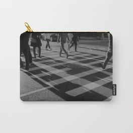 Crosswalk Shadows - Solarized Carry-All Pouch