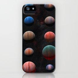 Planets : Hot Jupiter Exoplanets iPhone Case