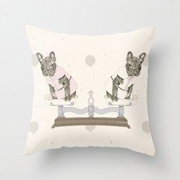 Las Lolas Throw Pillow