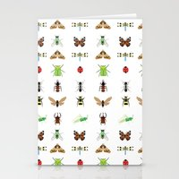 insects Stationery Cards featuring insects by Alysha Dawn