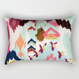 Bohemian Tribal Painting Rectangular Pillow