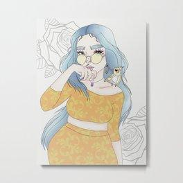 Lil Bird Metal Print