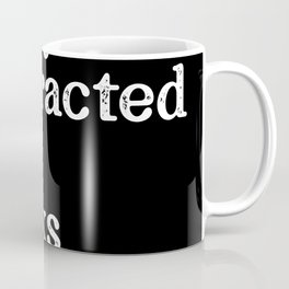 easily distracted by books Coffee Mug