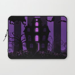 Be it ever so Haunted, there's no place like home. Laptop Sleeve