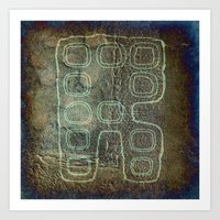 android Art Prints featuring ANDROID by lucborell