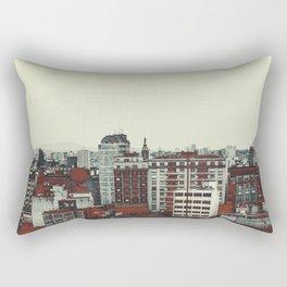 Sao Paulo Skyline I Rectangular Pillow