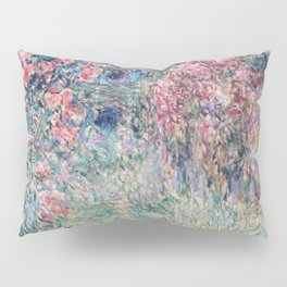 The House among the Roses by Claude Monet Pillow Sham