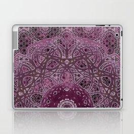 Vintage Merlot Lace Mandala Laptop & iPad Skin