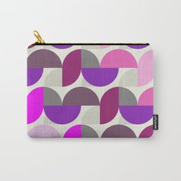 Revival Retro Vintage Graphic Design - pink violet Carry-All Pouch