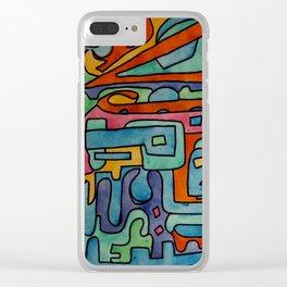 xc[]u[]u[]9 Clear iPhone Case