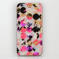 circles iPhone & iPod Skins featuring Circles by Georgiana Paraschiv