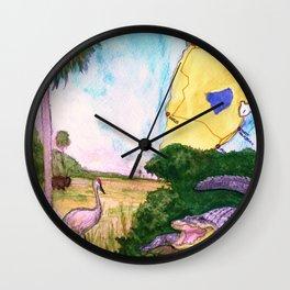 """Gainesville, FL"" by Cap Blackard Wall Clock"