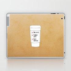 (More) Coffee Laptop & iPad Skin