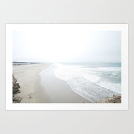 San Francisco Beach Art Print