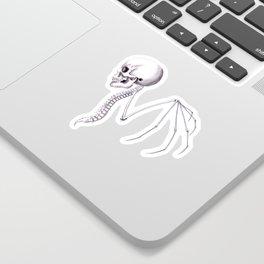 Skull Wing Sticker