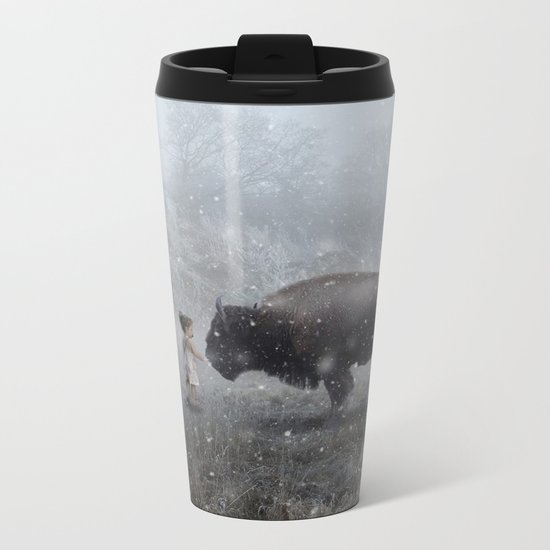 MeeTe Buffao Metal Travel Mug